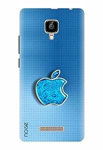 Noise Designer Printed Case / Cover for Lava A48 / Patterns & Ethnic / Blue Apple