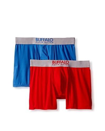 Buffalo Men's 2 Pack Microfiber Boxer Brief