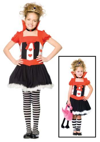 Leg Avenue Girl's Queen of Hearts Costume