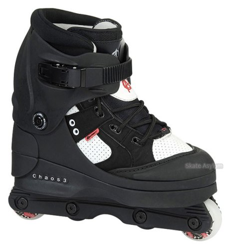 Anarchy Chaos 3 Aggressive Skates - Black - Size UK10