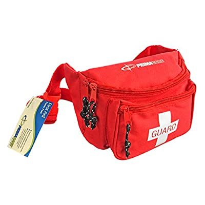 Primacare KB-8004 First Aid Fanny Pack, Red from Primacare