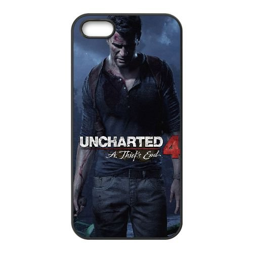 Uncharted A Thiefs End HY18QC5 cover iPhone 4 4s Cell Phone Case F1PB1B3UQ