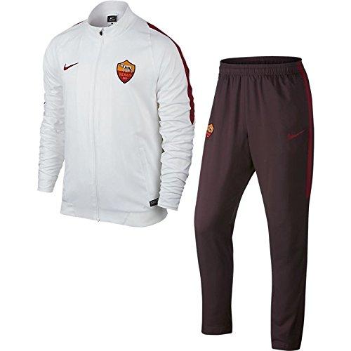 Nike AS ROMA 2015-2016 training suit man White/Metallic Silver-Brown XL