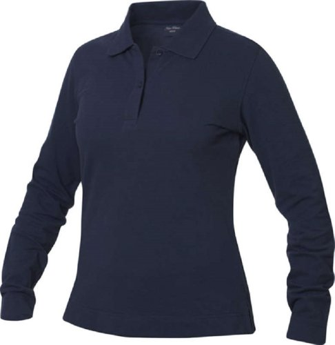 new-wave-cambra-womens-long-sleeve-heavyweight-100-cotton-polo-shirt-6-colour-options-sizes-s-xl-xl-