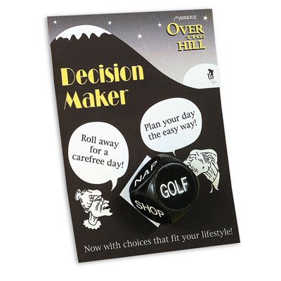 Over the Hill Carded Decision Maker - 1