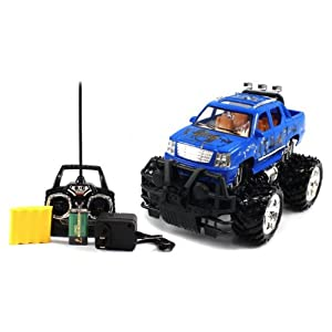 Velocity Toys BIG SIZE RECHARGEABLE Electric Full Function 1:16 Gallop Auto Cadillac Escalade EXT RTR RC Truck Remote Control at Sears.com