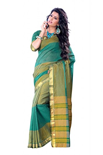 ISHIN Cotton Multicolor Sarees Vidhisha Checks