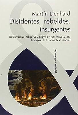 Disidentes, rebeldes, insurgentes. Resistencia indigena y negra en America Latina. Ensayos de historia testimonial (Spanish Edition)