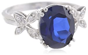 Sterling-Silver-Oval-Shaped-Created-Sapphire