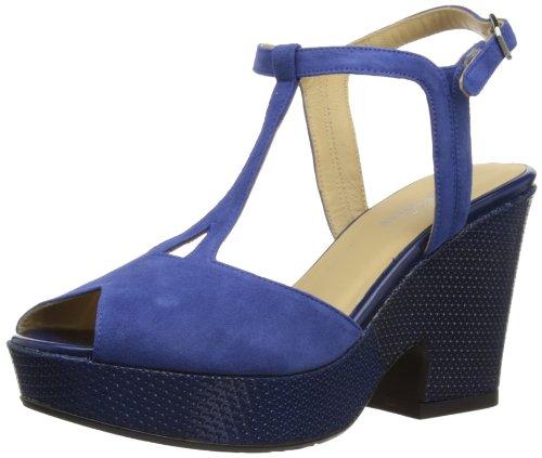Audley Dingino, Scarpe con plateau donna, Blu (blu), 36