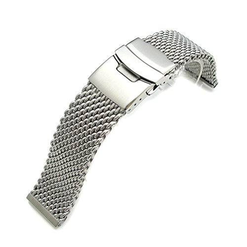 20mm-316l-stainless-steel-mesh-watch-bracelet-solid-end-lug-and-diver-clasp-aa