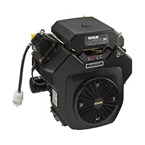 Kohler Command V-Twin Horizontal Engine with Electric Start - 20 HP, 1 1/8in. x 4in. Shaft, Model# PA-64503