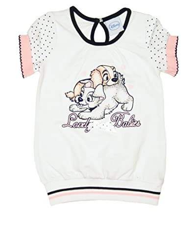 Fantasy Store T-Shirt Lady Baby Girl [Bianco]