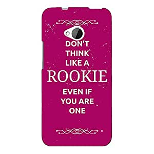 Jugaaduu SUITS Quotes Back Cover Case For HTC One M7