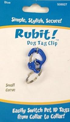 Small Curve Aluminum Dog Tag Clip