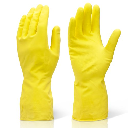 2-pairs-of-extra-large-yellow-industrial-cleaning-washing-up-rubber-gloves-xl-comes-with-tch-anti-ba