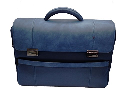 "CARTELLA CON PATTA 3 COMP.PORTA/PC 17""+TABLET RONCATO HARVARD 2403 DENIM"