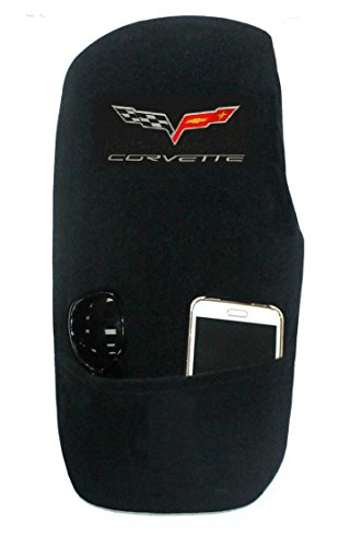 Seat Armour Custom Fit 'Konsole Armour' Center Console Cover for Select Chevrolet Corvette C6 Models (Black) (Custom Center Console compare prices)