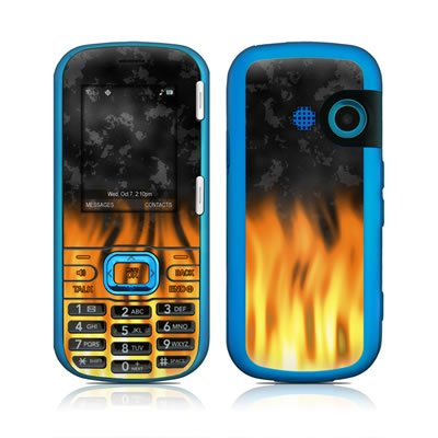BBQ Flames Design Protective Skin Decal Sticker for LG Rumor 2 LX265 Cell Phone