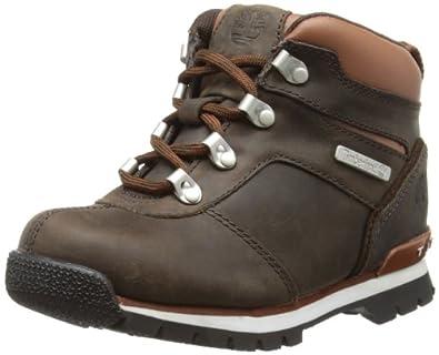 Timberland Splitrock 2, Boots garçon - Marron (Dark Brown Smooth), 35.5 EU