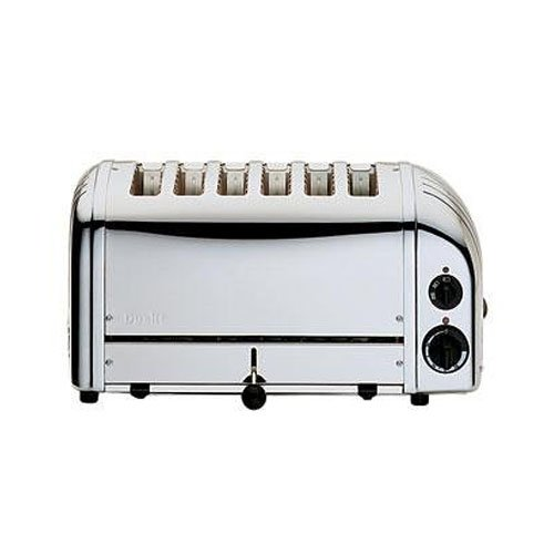 Dualit 60144 Stainless Steel 6-Slice Toaster