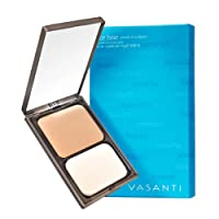 Vasanti Face Base Powder Foundation with Mineral Pigments - Oil-Free, Paraben-Free by Vasanti Cosmetics