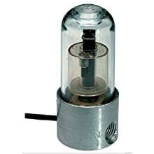 "Gems Sensors 46999 Polysulfone Float Single Point Highly Reliable Compact Level Switch, 1-9/16"" Diameter, 1/8""-27 NPSM, 3/4"" Actuation Level"