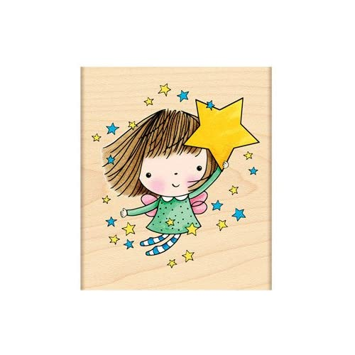 Penny Black Rubber Stamp 3X4.25 Amongst The Stars