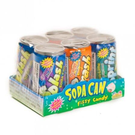 Splash Kidsmania Soda Can Fizzy Candy 1.48 Oz (42G) (Fizzy Candy Soda compare prices)