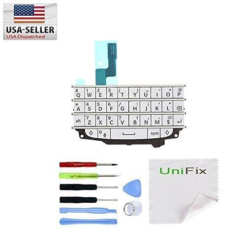 unifix-white-keypad-keyboard-qwerty-button-membrane-flex-cable-for-blackberry-bold-q10-tool-kit