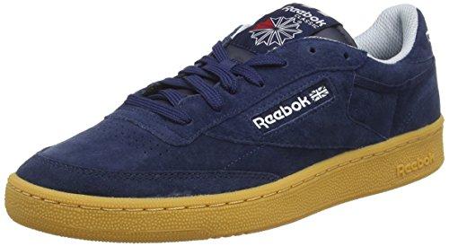 reebok-club-c-85-indoor-scarpe-da-ginnastica-basse-uomo-blu-collegiate-navy-cloud-grey-scarlet-white