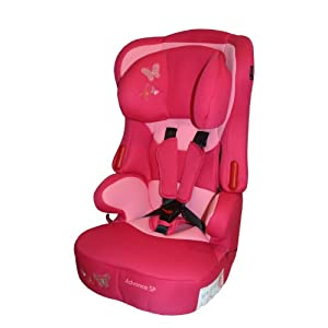 haut siege auto rehausseur beway papillon rose gr1 2 3. Black Bedroom Furniture Sets. Home Design Ideas