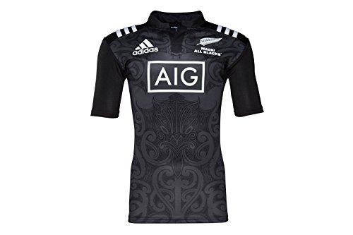 all-blacks-nlle-zelande-maori-2016-enfants-maillot-de-rugby-size-10-11yrs