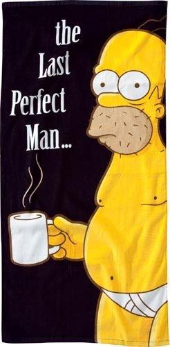 Imagen principal de The Simpson - Toalla de playa (150 x 75 cm), diseño Homer Simpson