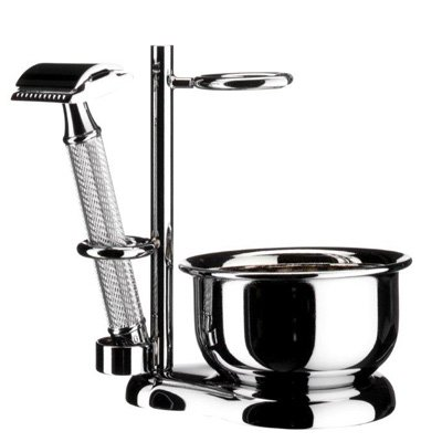 Muhle Shaving Stand with Lathering Bowl