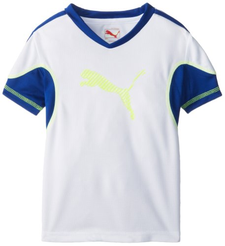 Puma Little Boys' Move T-Shirt, White, 5 front-1064940