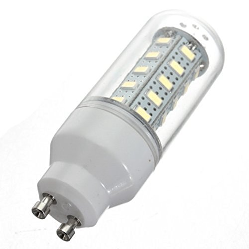 Kingso 7W Corn Led Gu10 Lights 110V 5730 36 Smd Frosted Cover Bulb Pure White