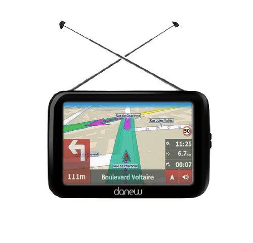- GS320 - GPS - Ecran 4,3' - Europe - TNT Double Tuner
