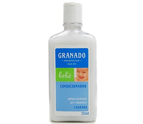 Linha Bebe Granado - Condicionador Bebe Lavanda 250 Ml - (Granado Baby Collection - Lavender Baby Conditioner 8.5 Fl Oz) - 1