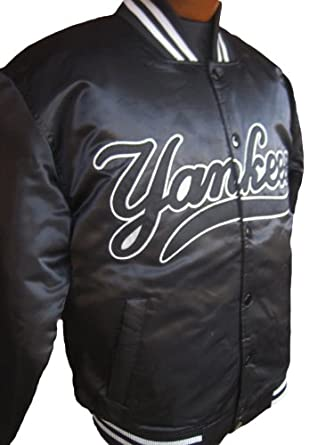 New York Yankees Home Base Satin Dugout Jacket by Majestic