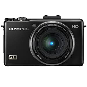 Olympus XZ-1 10 MP Digital Camera with f1.8 Lens and 3-Inch OLED Monitor (Black) $199.99