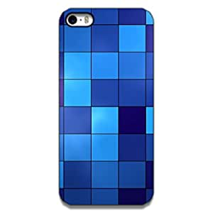 Mott2 Squre Blue Back cover for Apple 5s (Limited Time Offers,Please Check the Details Below)