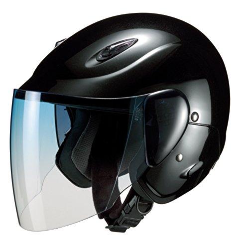 マルシン(Marushin) セミジェットヘルメット M-510 ブラック フリーサイズ(57~~60CM)