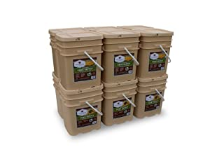 Wise Company 1440 Serving Package (240-Pounds, 12-Buckets) by Wise Company