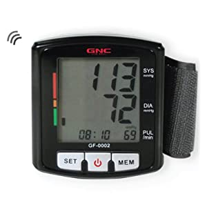 GNC GF-0002 Digital Talking Blood Pressure Monitor, Black