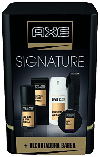 axe-quattro-signature-pack-regalo-recortadora-de-barba