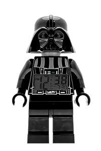LEGO Kids' 9002113 Star Wars Darth Vader Mini-Figure Alarm Clock
