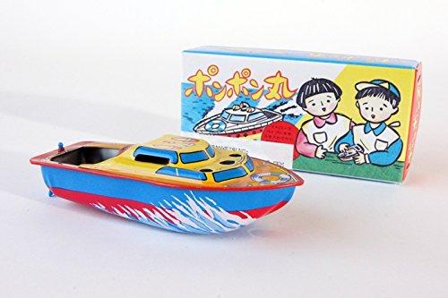 Bateaux--vapeur-Lucky-Toys-Drive-13-cm-avec-des-bougies