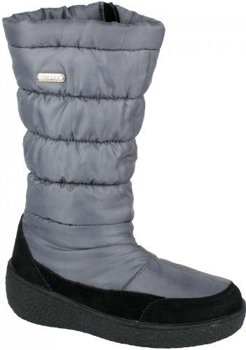 ConWay Winterstiefel mit CONTEX Membrane und PVC FREI grau, Größe:37;Farbe:Grau