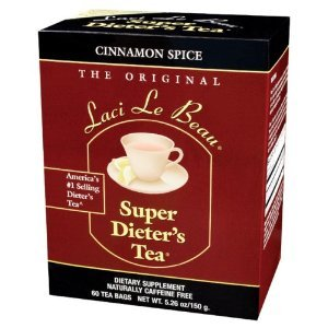 Laci Le Beau - Super Dieter's Tea/Cinnamon Spice, 60 bag